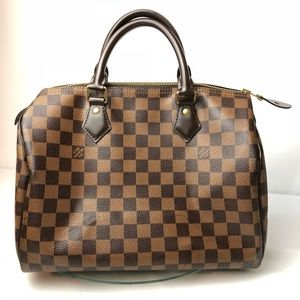 Louis Vuitton Damier Ebene 30 Speedy Authentic